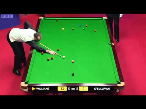 Ronnie O'Sullivan vs Mark Williams - 2012 World Snooker Championship (Session 3)