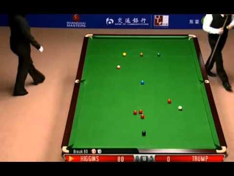 World Snooker Shanghai Masters 2012 FINAL - game 6 Higgins's AMAZING 147 break