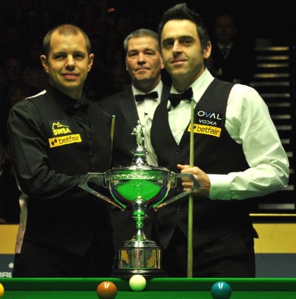 Ronnie O'Sullivan rockets to a fifth world snooker crown