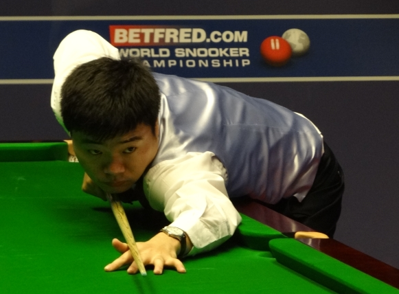 Ding wins historic Shanghai Masters final