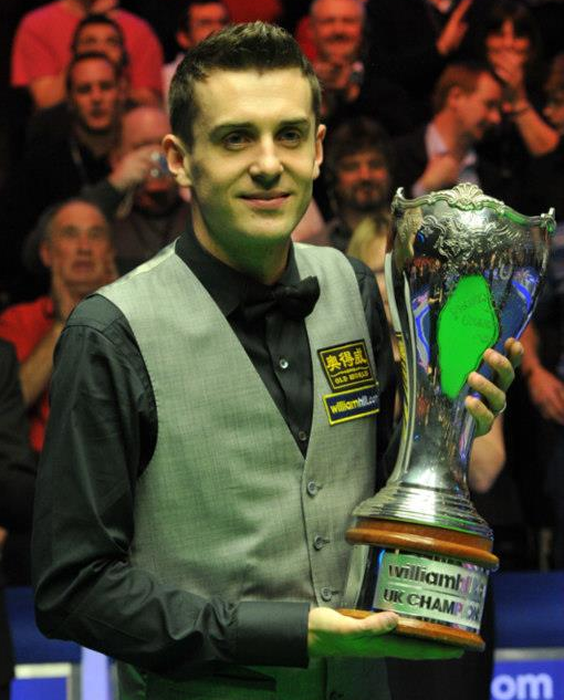 Mark Selby Snooker UK Champion 2012