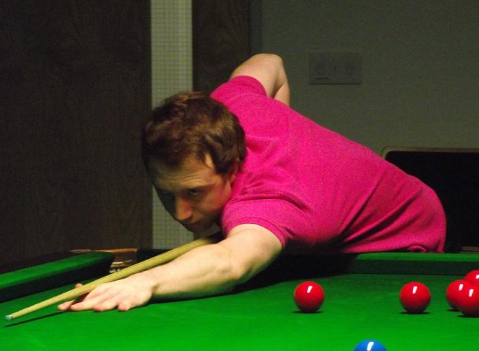 Michael Wasley Pink Snooker
