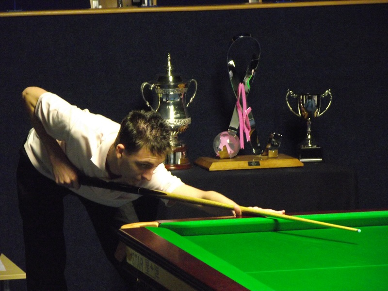 Ryan Causton Pink Snooker