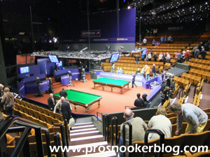 World Championship 2012: Draw News