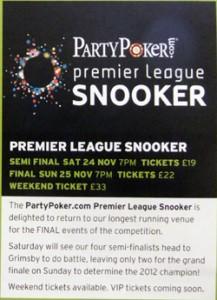 Premier League Finals Move To Grimsby