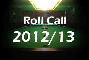 2012/13 Roll Call