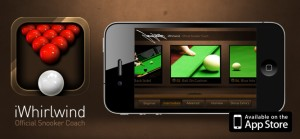 JIMMY WHITE LAUNCHES IPHONE COACHING APP