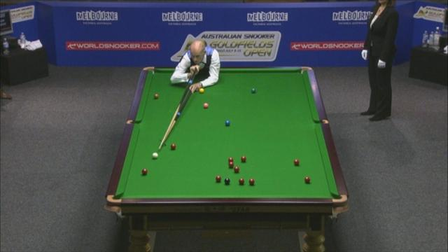 Snooker - Crow steals spotlight as Murphy bows out