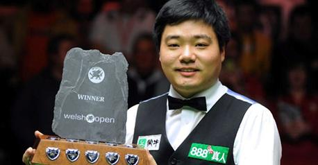 Snooker - Ding books place in Welsh Open final
