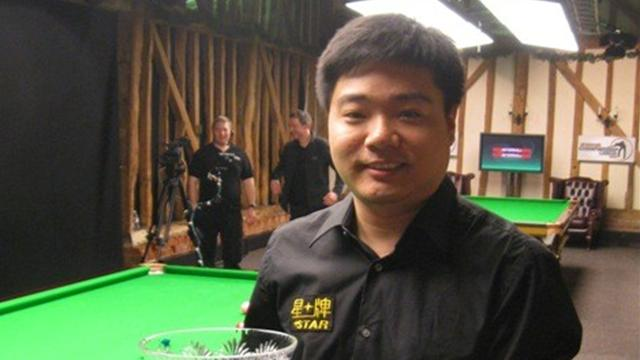 Snooker-Fry-ups help Ding win Championship League