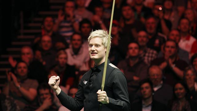 Snooker - Local hero Robertson wins Goldfields opener