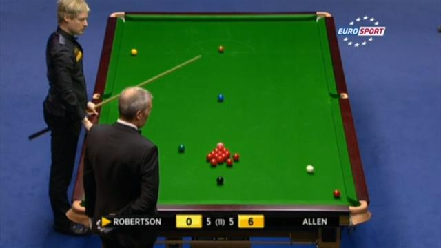 Snooker - Watch Robertson's Masters masterstroke