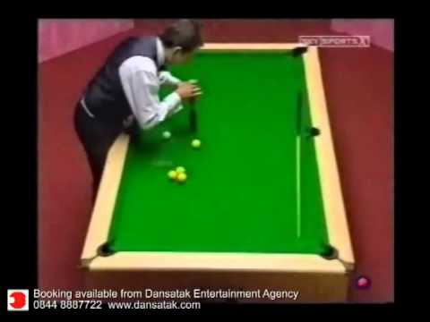 Steve Daking - Trick Shot Champion - Dansatak Entertainment Agency