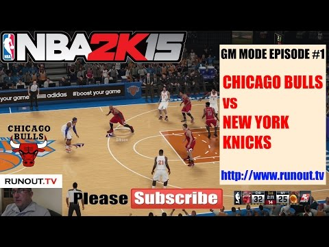 #1 NBA 2k15 Xbox One Gameplay - Chicago Bulls GM Mode